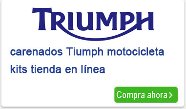 motocicleta Triumph carenados kits tienda en línea
