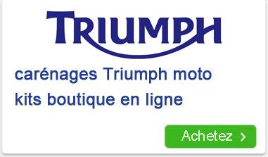 moto Triumph carénages kits boutique en ligne
