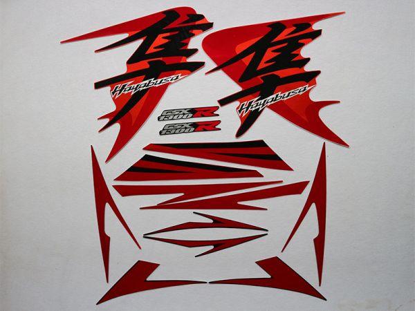 Motorcycle Fairings Decal / Sticker For Suzuki GSXR1300r 2008-2009