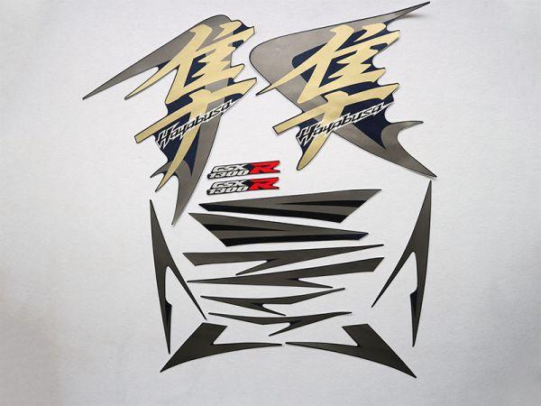 Motorcycle Fairings Decal / Sticker For Suzuki GSXR1300r 2008