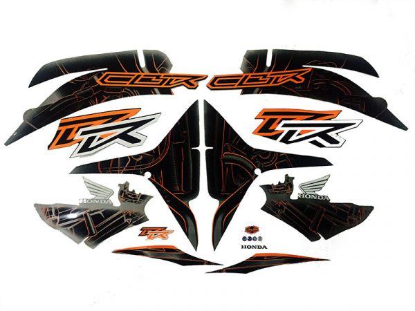 Motorcycle Fairings Decal / Sticker For Honda CBR600RR 2007-2012