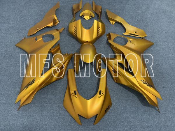 Yamaha YZF-R6 2017-2019 Injection ABS Fairing - Factory Style - Gold - MFS8454