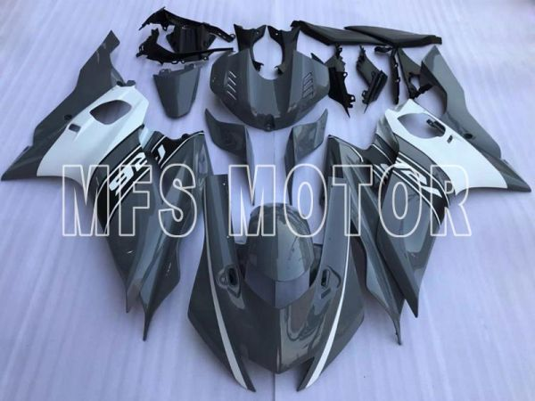 Yamaha YZF-R6 2017-2019 Injection ABS Fairing - Factory Style - Gray White - MFS8448