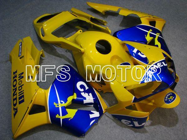 Honda CBR600RR 2003-2004 ABS Injection Fairing - Camel - Yellow Blue - MFS5141