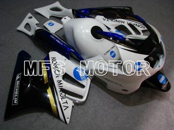 Honda CBR600 F3 1997-1998 Injection ABS Fairing - Konica Minolta - Black White - MFS4935