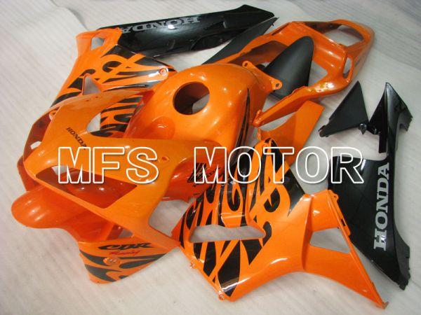 Honda CBR600RR 2003-2004 Injection ABS Fairing - Factory - Orange Black - MFS2059
