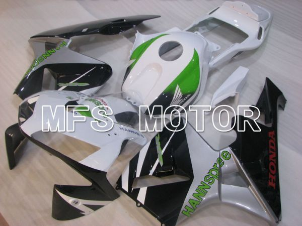 Honda CBR600RR 2003-2004 Injection ABS Fairing - HANN Spree - White Black Green - MFS2060