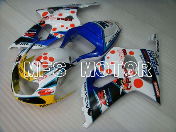 Suzuki GSXR600 2001-2003 Injection ABS Fairing - Dark Dog - Blue White - MFS2062