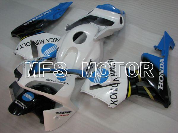 Honda CBR600RR 2003-2004 Injection ABS Fairing - HRC - White Black Blue - MFS2063