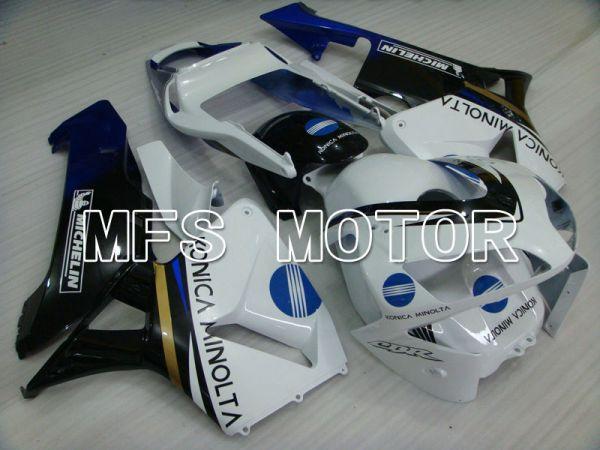 Honda CBR600RR 2003-2004 Injection ABS Fairing - Konica Minolta - White Black Blue - MFS2064