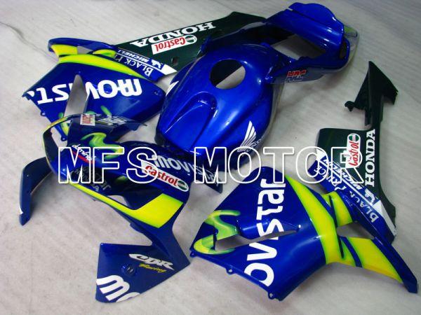 Honda CBR600RR 2003-2004 Injection ABS Fairing - Castrol - Green Blue - MFS2066
