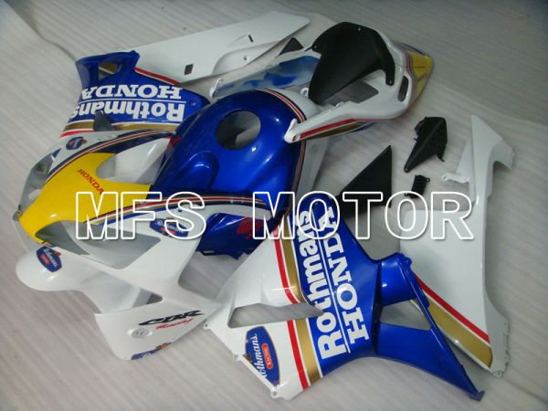 Honda CBR600RR 2003-2004 Injection ABS Fairing - Rothmans - White Blue Yellow - MFS2070