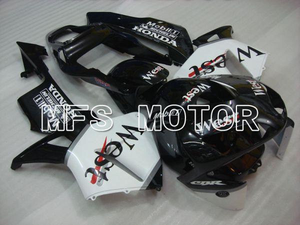 Honda CBR600RR 2003-2004 Injection ABS Fairing - West - White Black - MFS2071