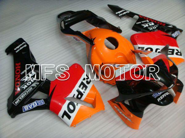 Honda CBR600RR 2003-2004 Injection ABS Fairing - Repsol - Orange Red Black - MFS2080