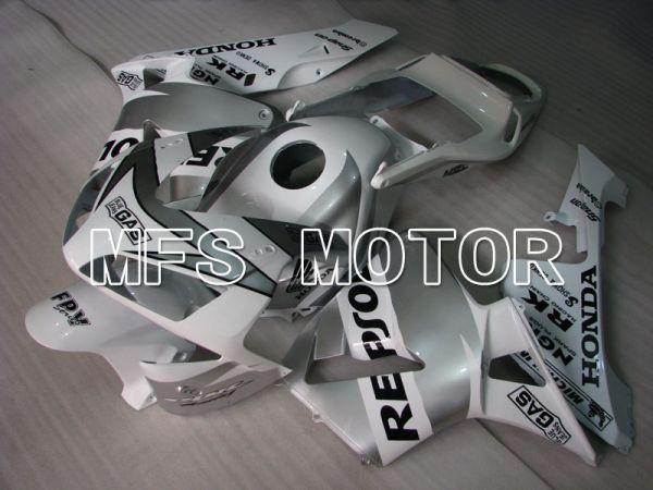 Honda CBR600RR 2003-2004 Injection ABS Fairing - Repsol - White Silver - MFS2083