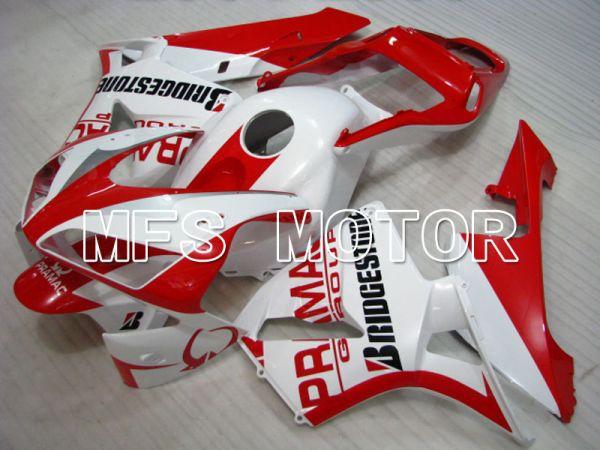 Honda CBR600RR 2003-2004 ABS Injection Fairing - PRAMAC - Red White - MFS2084