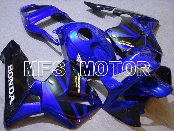 Honda CBR600RR 2003-2004 ABS Injection Fairing - Factory Style - Blue Black - MFS2085