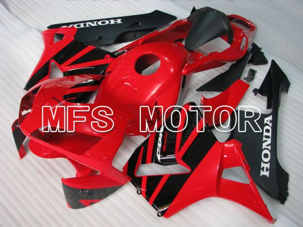 Honda CBR600RR 2003-2004 ABS Injection Fairing - Factory Style - Red Black - MFS2095