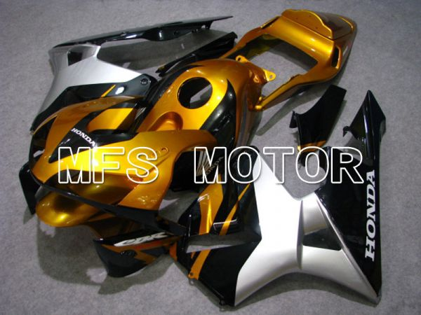 Honda CBR600RR 2003-2004 ABS Injection Fairing - Factory Style - Gold Silver Black - MFS2098