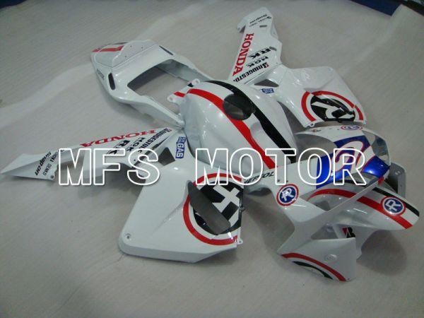 Honda CBR600RR 2003-2004 ABS Injection Fairing - Repsol - Red White Blue - MFS2103