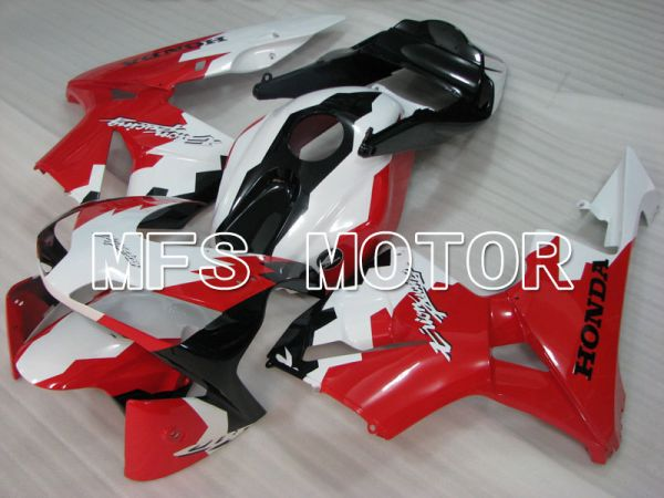 Honda CBR600RR 2003-2004 ABS Injection Fairing - Others - Red White Black - MFS2109