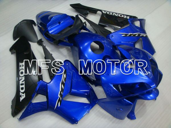 Honda CBR600RR 2005-2006 Injection ABS Fairing - Factory Style - Blue Black - MFS2168