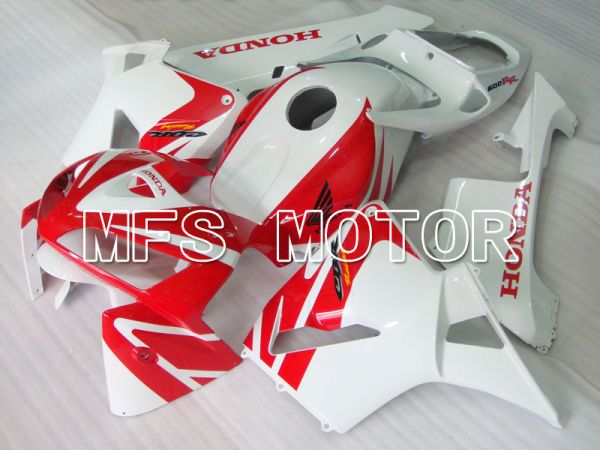 Honda CBR600RR 2005-2006 Injection ABS Fairing - Factory Style - White Red - MFS2185