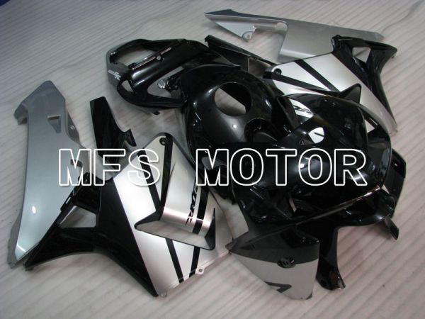 Honda CBR600RR 2005-2006 Injection ABS Fairing - Factory Style - Black Silver - MFS2187