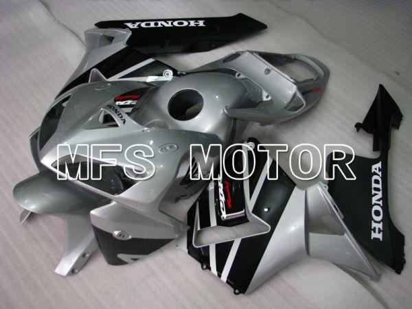 Honda CBR600RR 2005-2006 Injection ABS Fairing - Factory Style - Silver Black - MFS2194