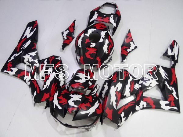 Honda CBR600RR 2013-2019 Injection ABS Fairing - Customize - Red White Black - MFS2408
