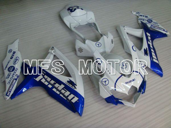 Suzuki GSXR600 GSXR750 2008-2010 Injection ABS Fairing - Jordan - Blue White - MFS2423