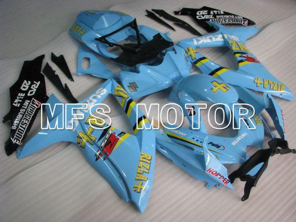 Suzuki GSXR600 GSXR750 2008-2010 Injection ABS Fairing - Rizla+ - Blue - MFS2430