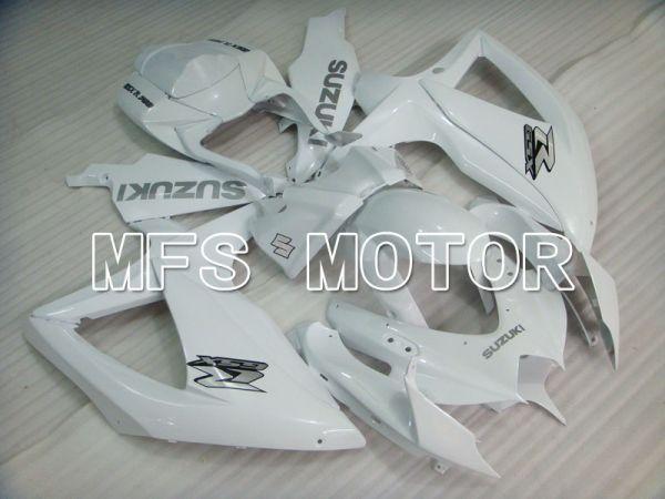 Suzuki GSXR600 GSXR750 2008-2010 Injection ABS Fairing - Factory Style - White - MFS2432