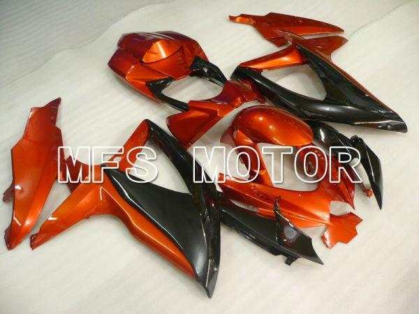 Suzuki GSXR600 GSXR750 2008-2010 Injection ABS Fairing - Factory Style - Black Orange - MFS2435