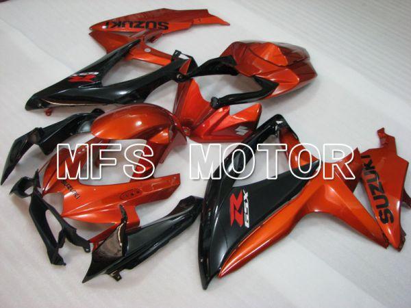 Suzuki GSXR600 GSXR750 2008-2010 Injection ABS Fairing - Factory Style - Black Orange - MFS2436