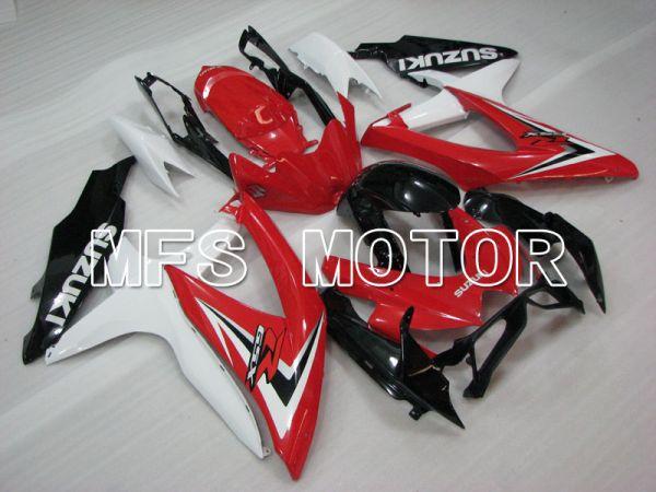 Suzuki GSXR600 GSXR750 2008-2010 Injection ABS Fairing - Factory Style - Black Red White - MFS2437