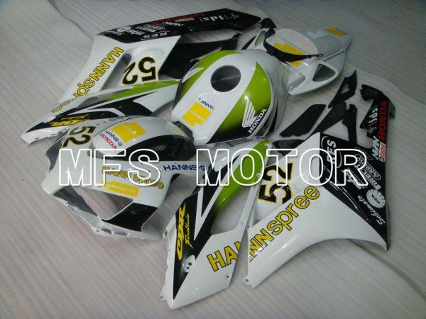 Honda CBR1000RR 2004-2005 Injection ABS Fairing - HANN Spree - Green White Black - MFS2494