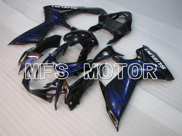 Suzuki GSXR600 GSXR750 2011-2016 Injection ABS Fairing - Flame - Black - MFS2496
