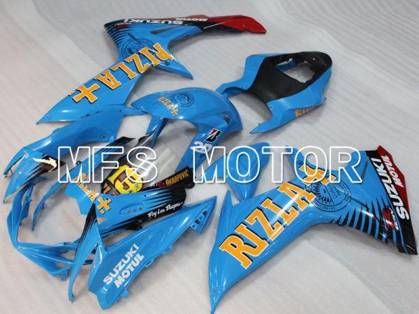 Suzuki GSXR600 GSXR750 2011-2016 Injection ABS Fairing - Rizla+ - Blue - MFS2505