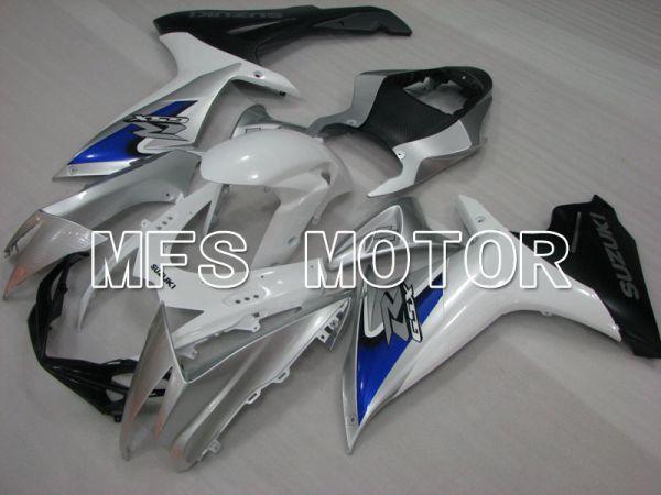 Suzuki GSXR600 GSXR750 2011-2016 Injection ABS Fairing - Factory Style - Silver White - MFS2518