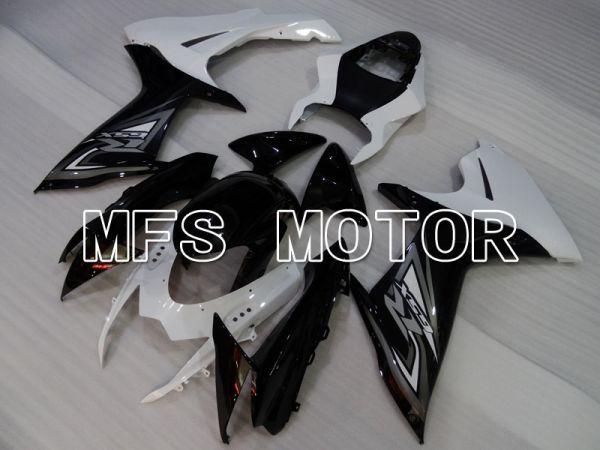 Suzuki GSXR600 GSXR750 2011-2016 Injection ABS Fairing - Factory Style - Black White - MFS2519