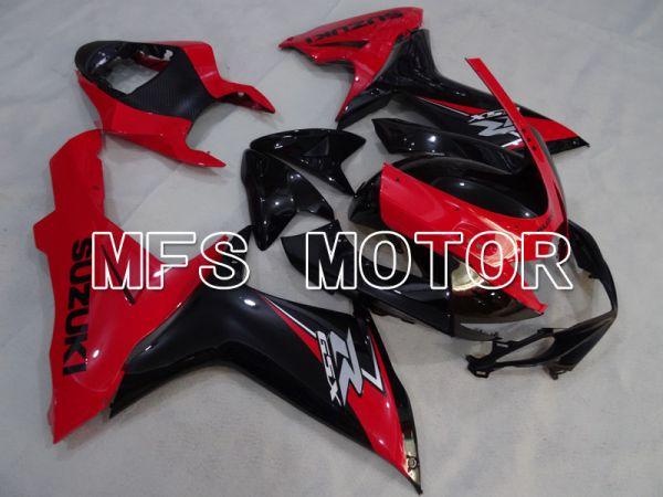 Suzuki GSXR600 GSXR750 2011-2016 Injection ABS Fairing - Factory Style - Black Red - MFS2525