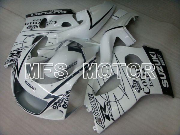 Suzuki GSXR600 1997-2000 ABS Fairing - Corona - Black White - MFS2527