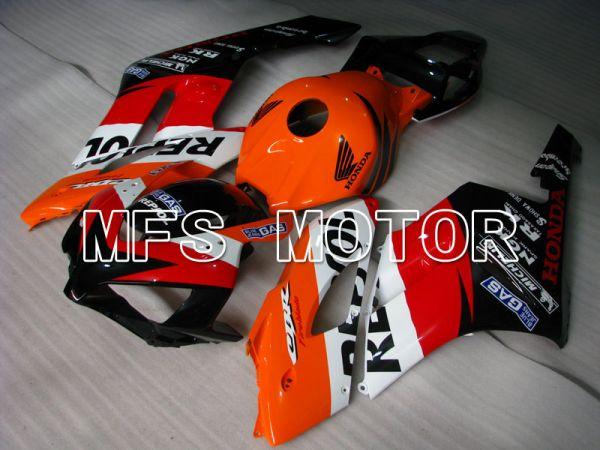 Honda CBR1000RR 2004-2005 Injection ABS Fairing - Repsol - Red Orange Black - MFS2534