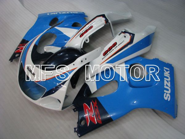 Suzuki GSXR750 1996-1999 ABS Fairing - Factory Style - Blue White - MFS6874