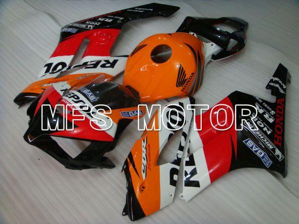 Honda CBR1000RR 2004-2005 Injection ABS Fairing - Repsol - Red Orange Black - MFS2543