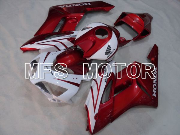 Honda CBR1000RR 2004-2005 Injection ABS Fairing - Factory Style - White Red wine color- MFS2549