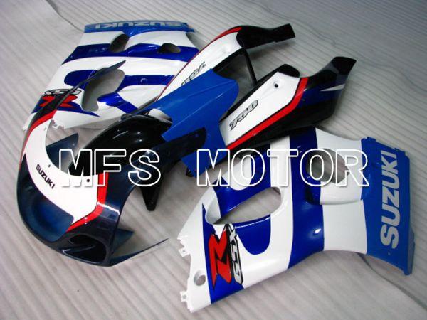 Suzuki GSXR750 1996-1999 ABS Fairing - Factory Style - Blue White - MFS6882