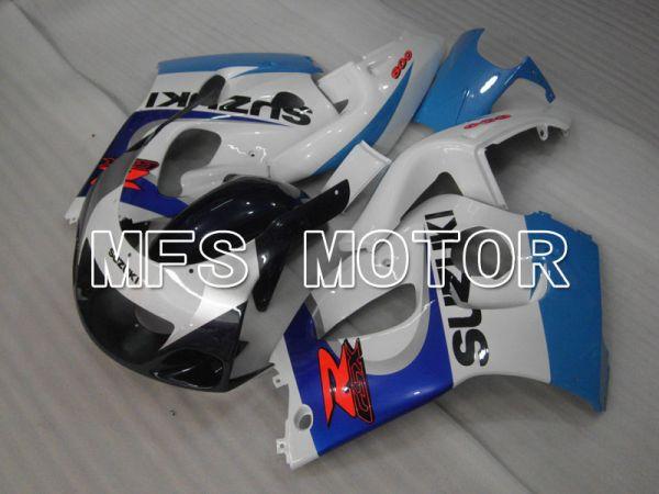 Suzuki GSXR750 1996-1999 ABS Fairing - Factory Style - Blue White - MFS6887