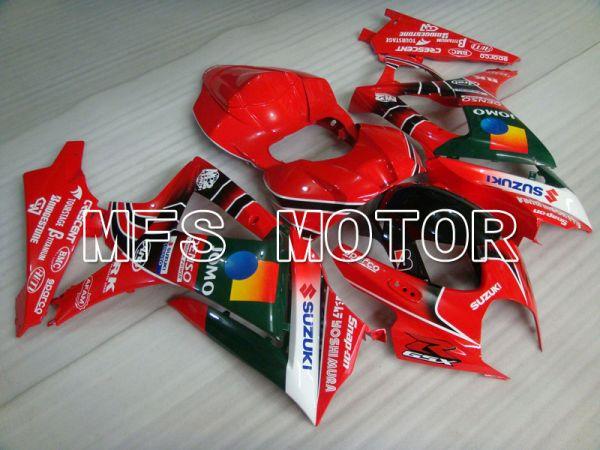 Suzuki GSXR1000 2007-2008 Injection ABS Fairing - JOMO - Black Red - MFS2670